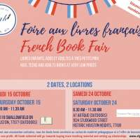 French book fair - Saturday 24 October 2020 08:30-11:30