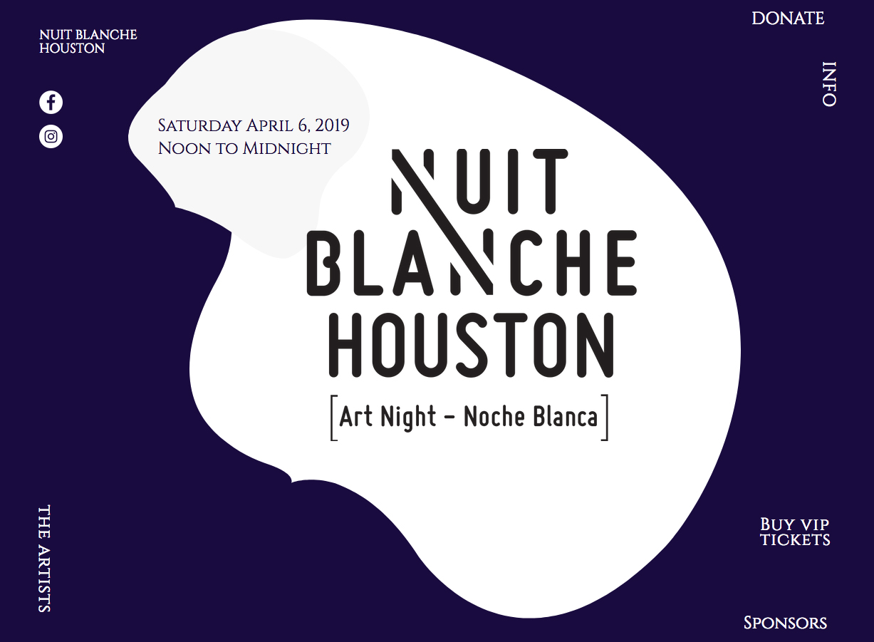 Nuit Blanche Houston